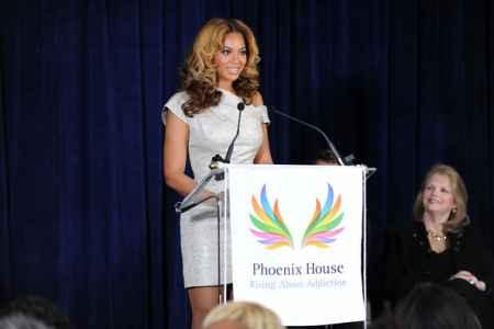 Beyonce Knowles Speaks During Cosmetology Center Opening