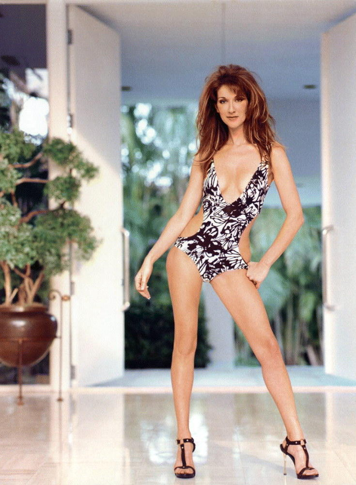 Celine Dion Sexy Dress Hot Photo Shoot