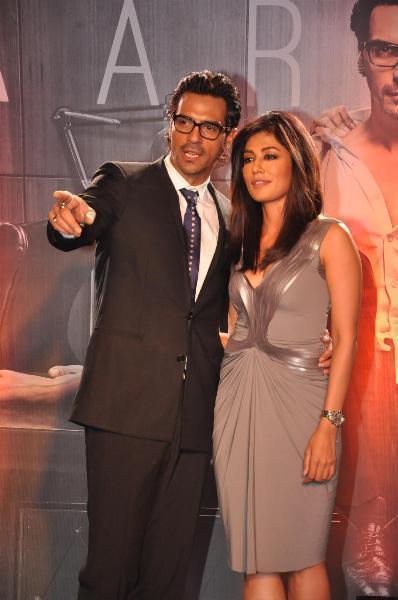 Arjun And Chitrangada At The Launch Of Inkaar Calendar