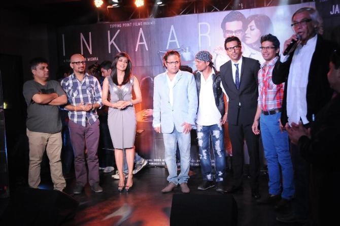 Arjun,Chitrangada,Sudhir And Shaan Graced At The Launch Of Inkaar Calendar