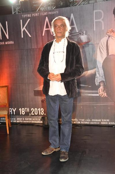 Sudhir Mishra Strikes A Pose At The Launch Of Inkaar Calendar