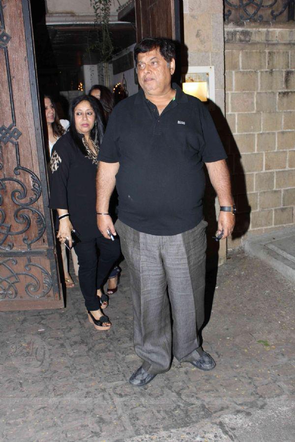 David Dhawan Spotted At Jackky Bhagnani Birthday Bash