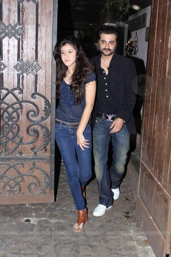 Sanjay Kapoor With A Friend Arrived At Jackky Bhagnani Birthday Bash