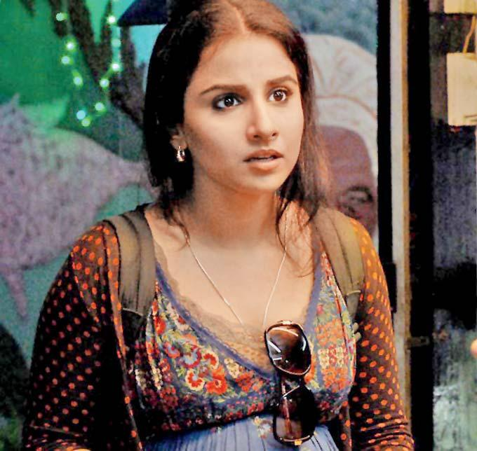 Vidya Balan Nice Still From Kahaani Movie
