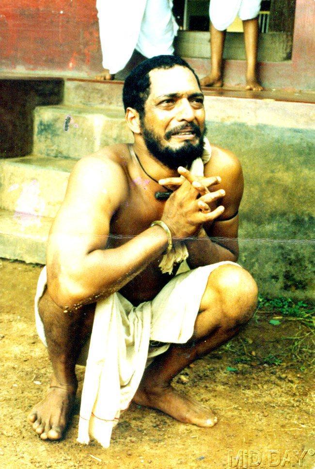 Nana Patekar In A Poor Man Look Still