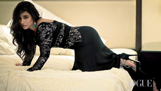 Vidya Balan Bold Photo Shoot For Vogue India January 2013