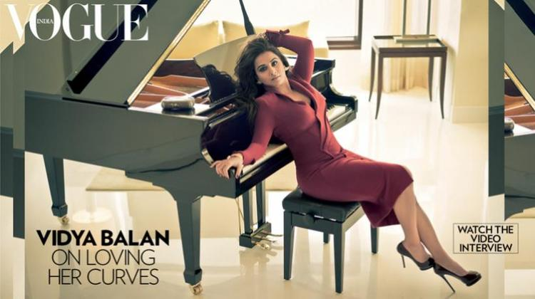Vidya Balan Stylish For Vogue India January 2013 Issue