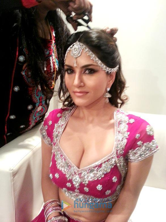 Sunny Leone Beautiful Look Shoot At Crystal Ballroom