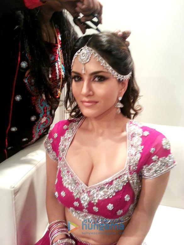 Sunny Leone Beautiful Look Shoot At Crystal Ballroom