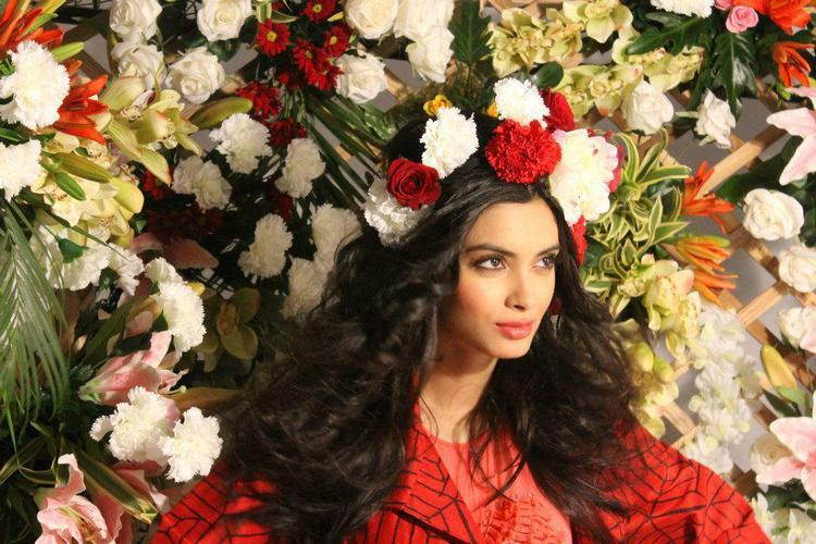 Stunning Diana Penty Beautiful Face Look Photo Shoot For Verve Jan 2013 Issue