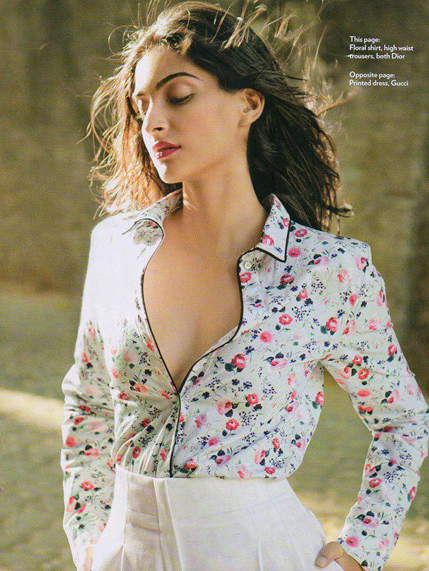 Sonam Kapoor Hot Look Shoot For Marie Claire India Jan 2013