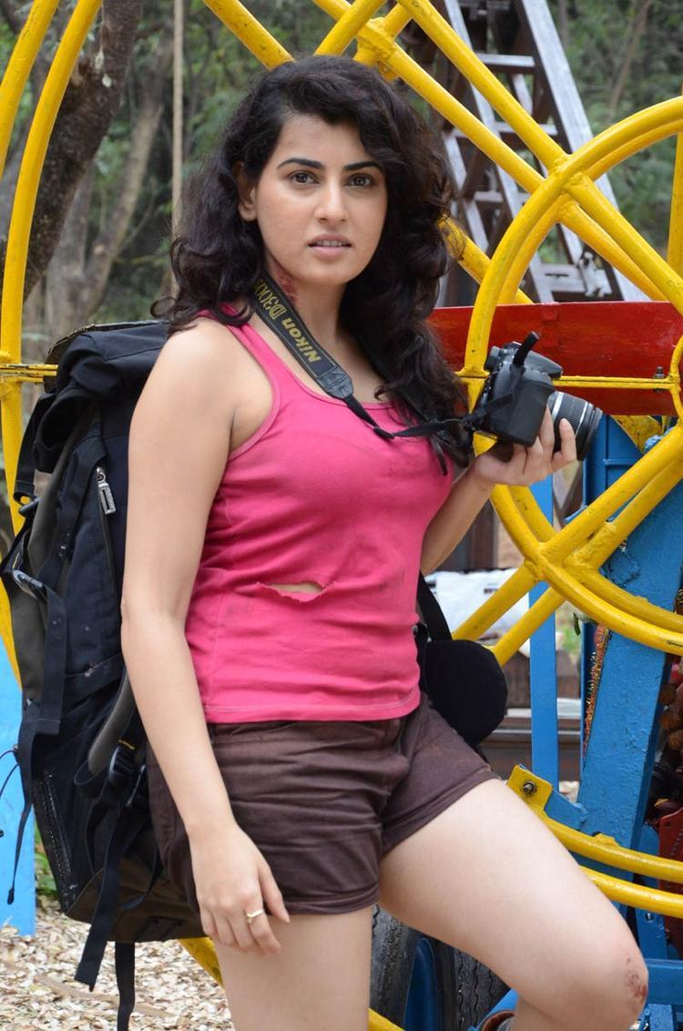 Archana Hot Look Still At Panchami Telugu Movie Press Meet