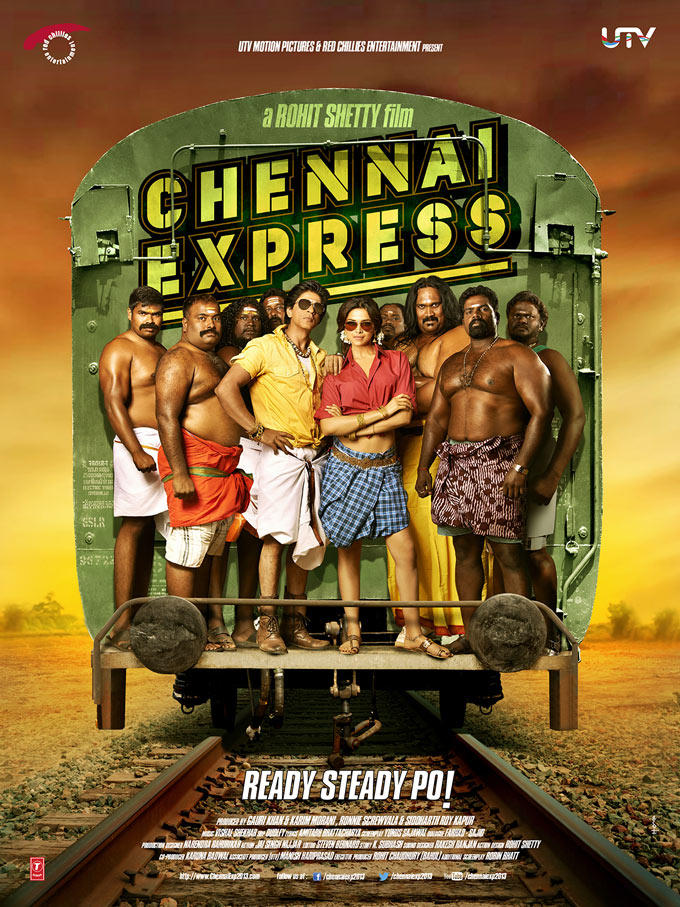 Shahrukh And Deepika Dashing Look Still Of Chennai Express