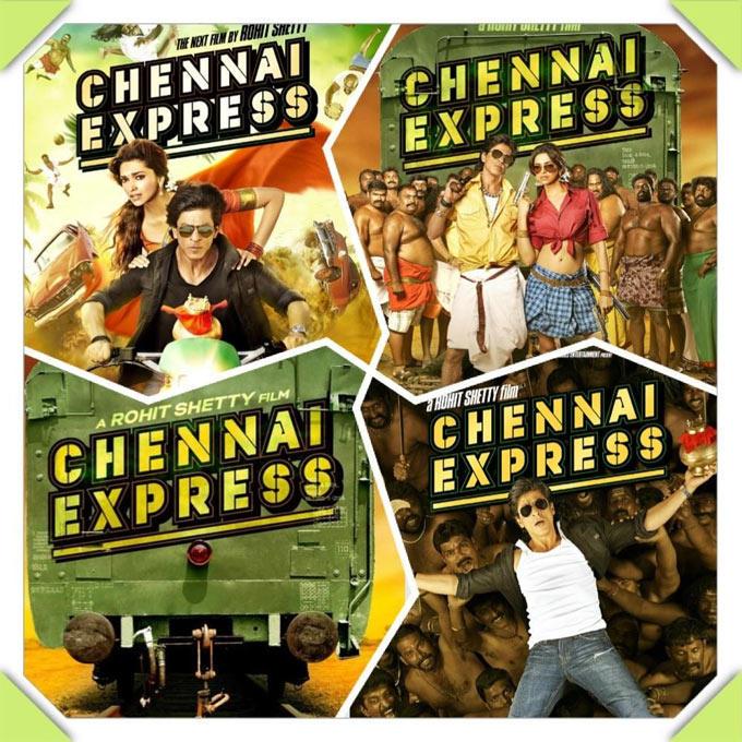 Shahrukh And Deepika First Look Of Chennai Express