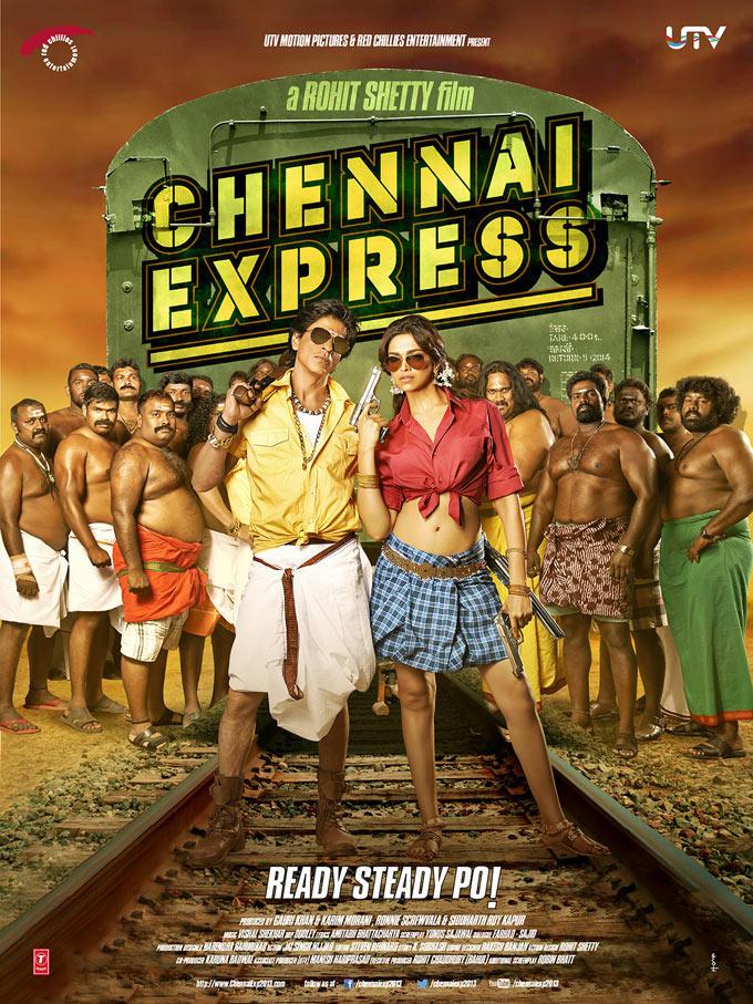 Shahrukh And Deepika First Look Photo Still Of Chennai Express