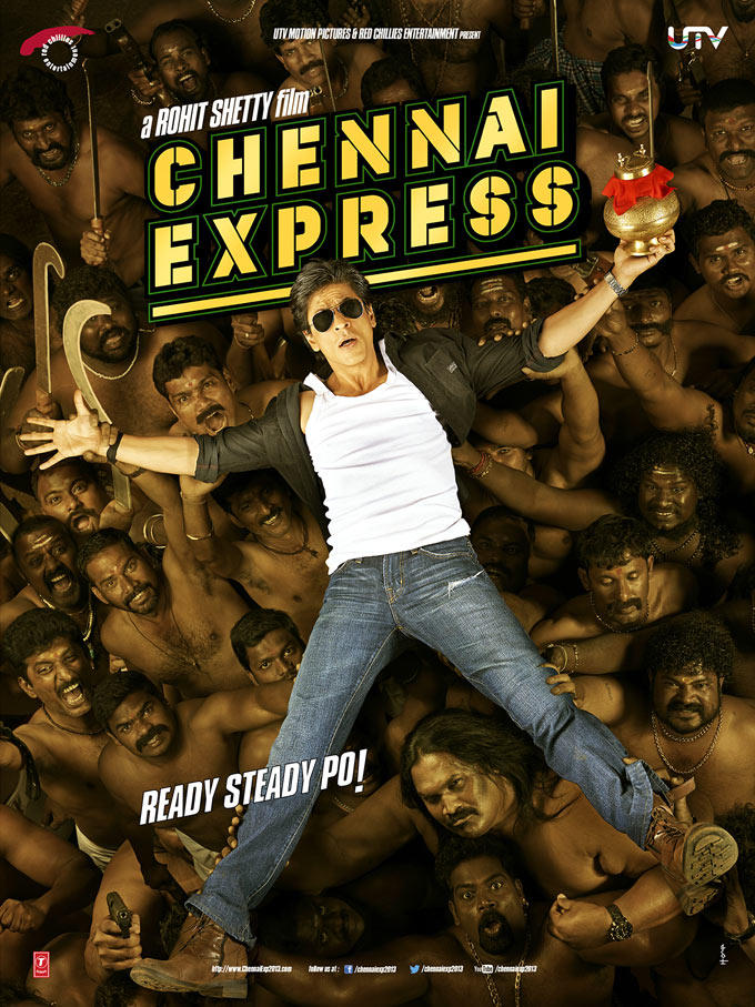 Shahrukh Awesom Still Of Upcoming Hindi Movie Chennai Express