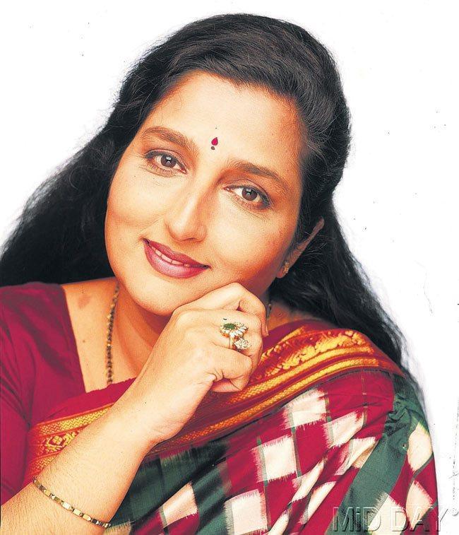 Singer Anuradha Paudwal Beautiful Look Still