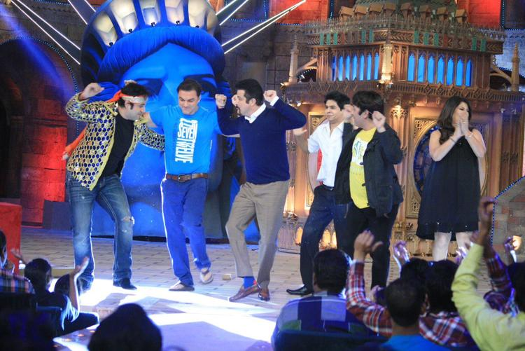 Anil,Sohail And Others Danced And Archana Looks On The Sets Of Comedy Circus
