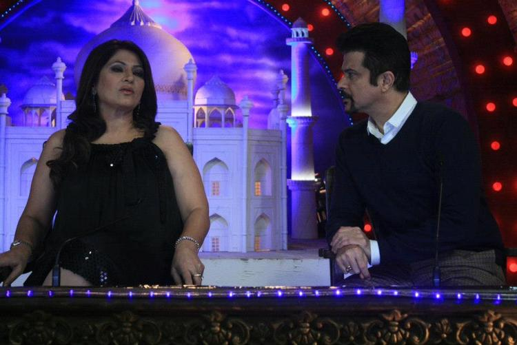 Archana And Anil On The Sets Of Comedy Circus