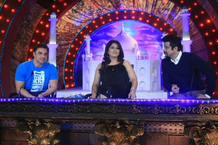 Archana,Anil And Sohail On The Sets Of Comedy Circus