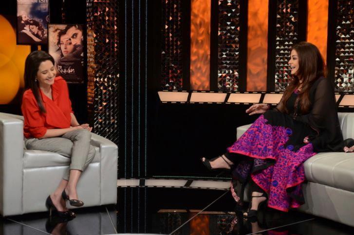 Aishwarya On The Front Row With Anupama Chopra