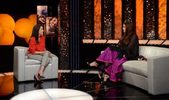 Aishwarya At The Front Row With Anupama