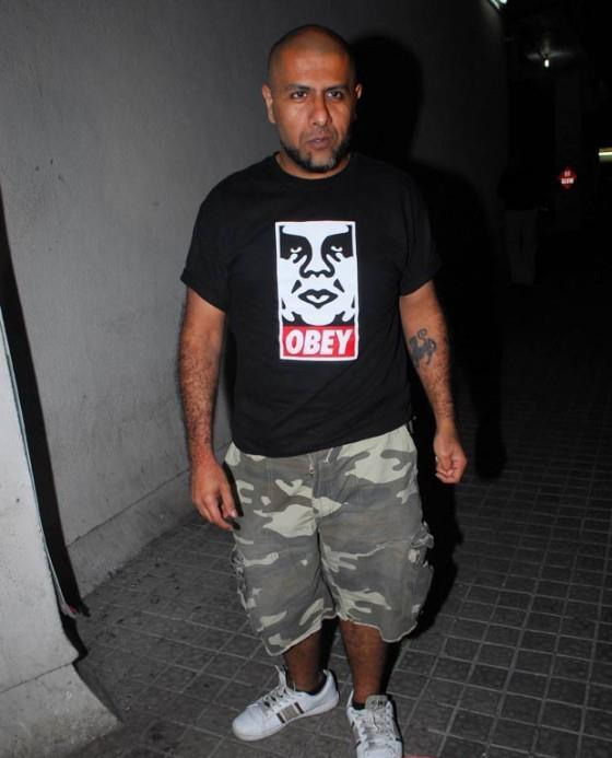 Vishal Dadlani In Different Get Up At The Screening Of Balak Palak
