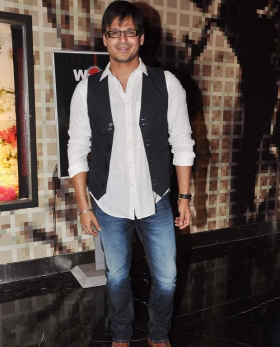 Vivek Oberoi Smart Look Photo Clicked At The Screening Of Balak Palak