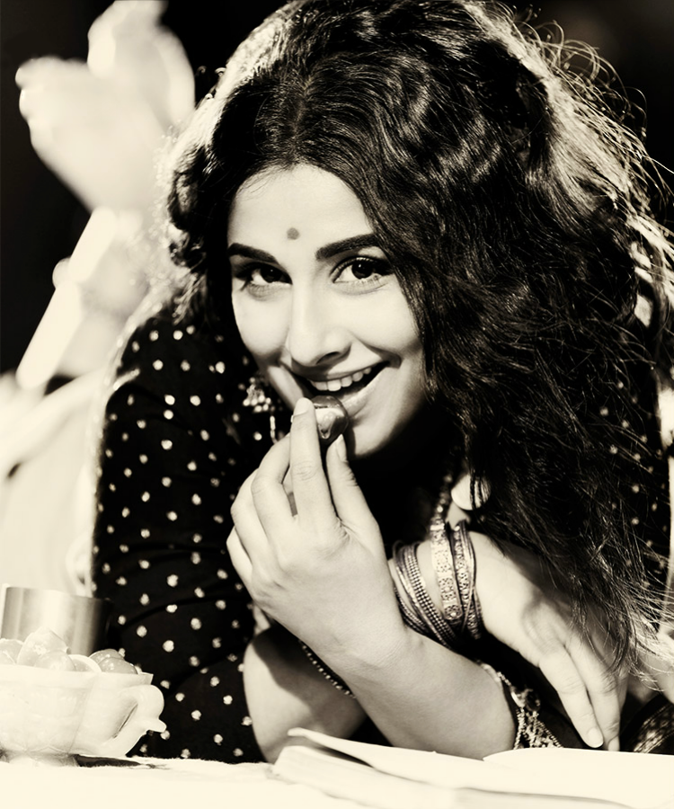 Vidya Balan Charming Face Look Photo Shoot For Filmfare Middle East January 2013