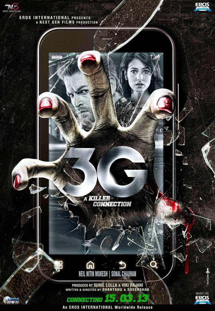 Neil Nitin Mukesh And Sonal On First Look Of 3G Brand New Poster