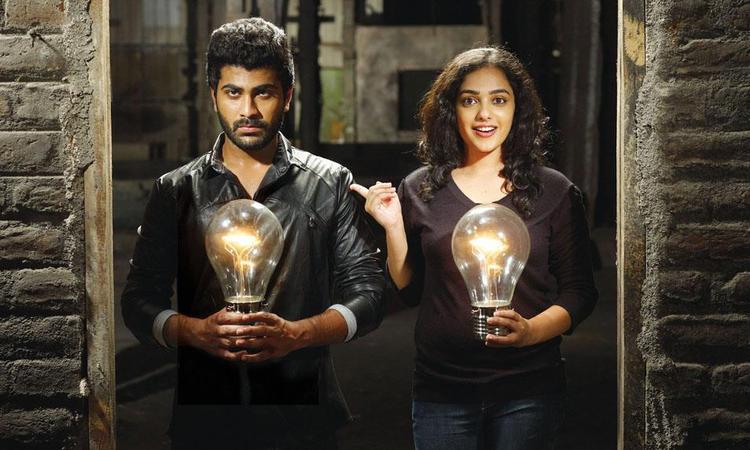 Sharwanand And Nithya Stunning Look Still In Black Dress From Movie Yemito Ee Maya