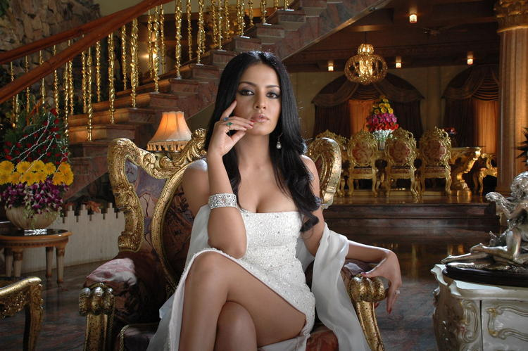 Celina Jaitley Hot And Sexy Look In XYZ Telugu Movie