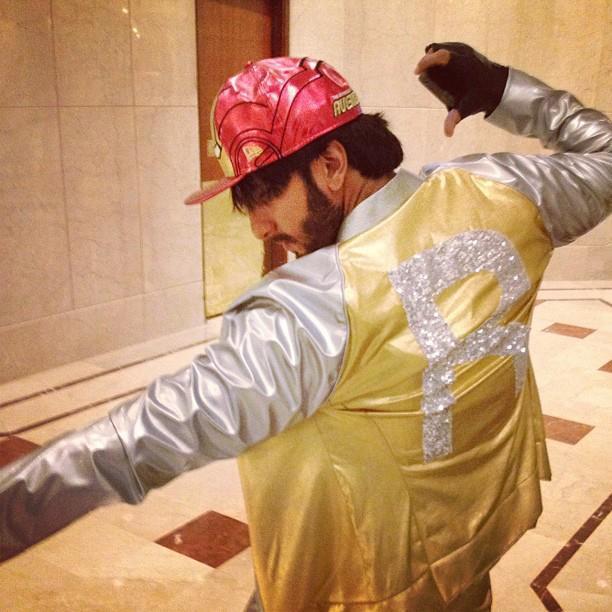 Ranveer Singh Dancing Pose Photo Still