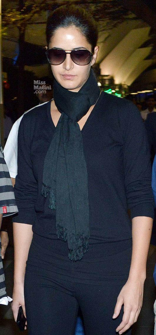 Katrina Kaif Glamour Look At Airport
