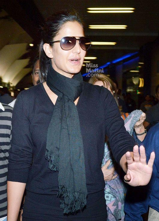 Katrina Kaif Stylish Look At Airport
