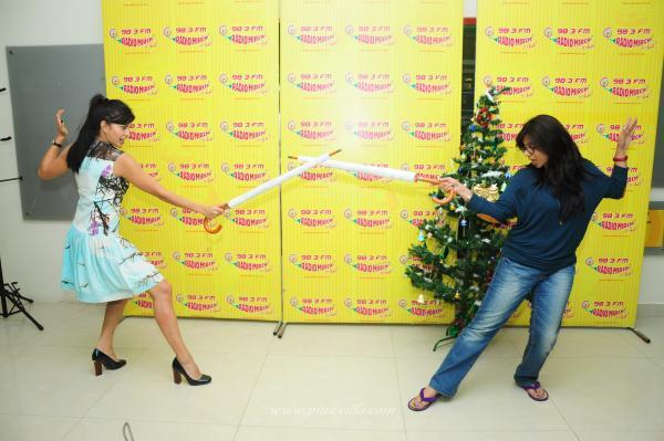 Jacqueline Visits Radio Mirchi For Promoting Race 2 Movie