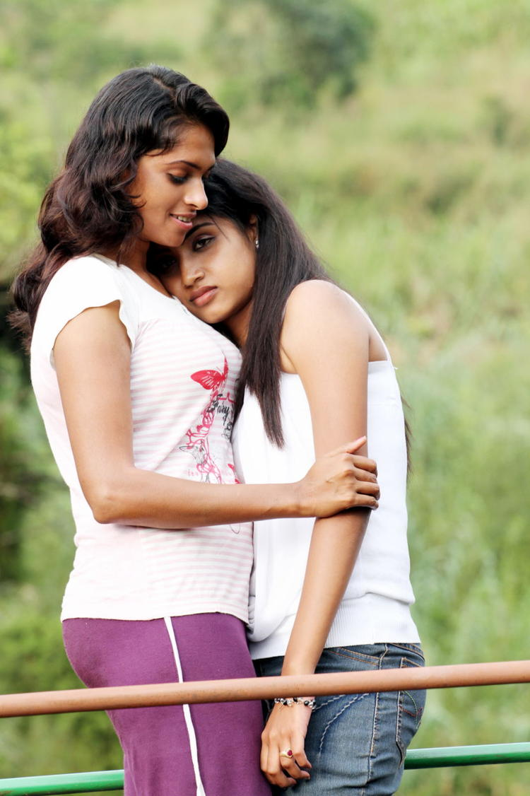 Rithi Mangal And Agatha Awesome Cosy Still From Movie Iddara Bhamala Kougililo