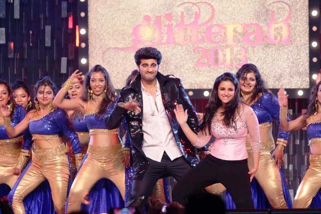 Arjun Stylish Look Photo On Stage At Glitterati 2013 Aamby Valley City On New Years