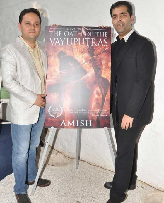 Amish And Karan Photo Clicked The Oath Of The Vayuputras Launch