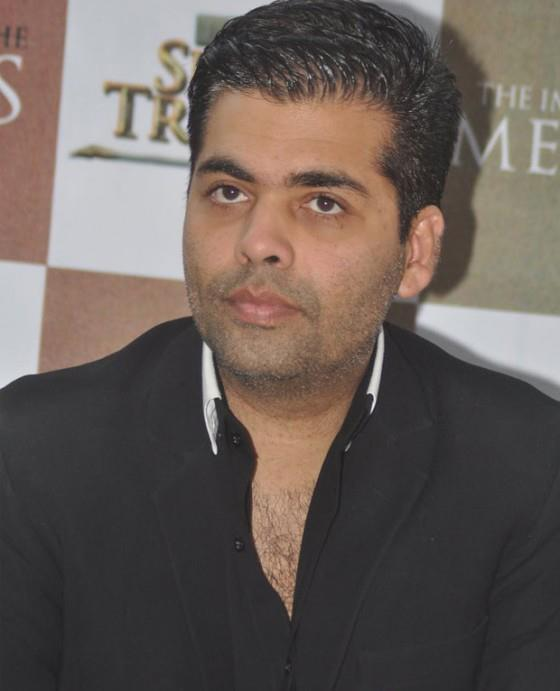 Karan Johar Dashing Look Photo At The Book The Oath Of The Vayuputras Launch
