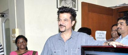 Anil Kapoor Arrived At CINTAA Website Launch Event