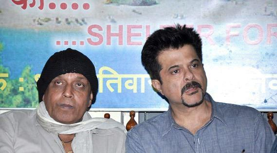 Mithun And Anil Spotted At CINTAA Website Launch