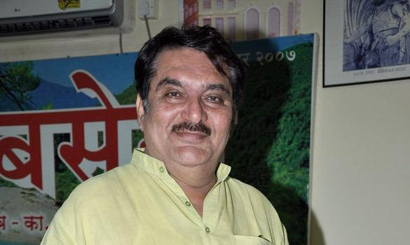 Raza Murad Smiling Pose For Camera At CINTAA Website Launch