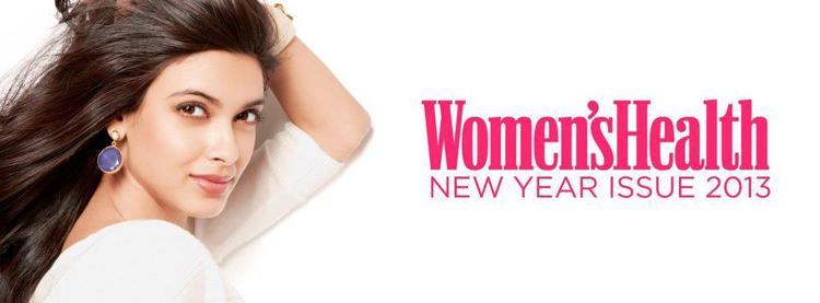 Diana Penty Stunning Face Look On Women's Health India Jan 2013