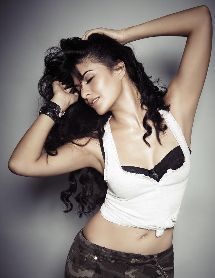 Jacqueline Sexy Expression Photo Shoot For FHM Magazine January 2013