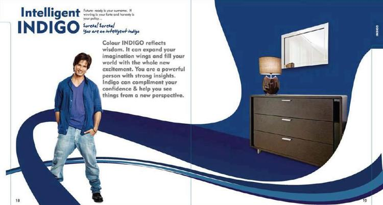 Shahid Kapoor Stylish Pose Photo Shoot For Dulux Colours And You Book