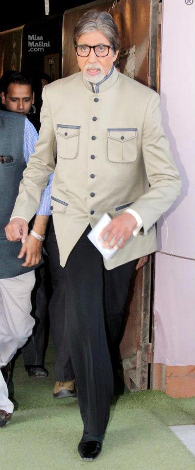 Amitabh Bachchan Spotted At Kaun Banega Crorepati Studio