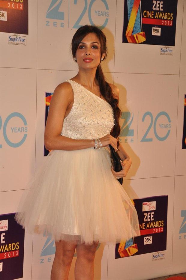 Malaika Arora Khan Sexy Appearance At Zee Cine Awards 2013 Ceremony
