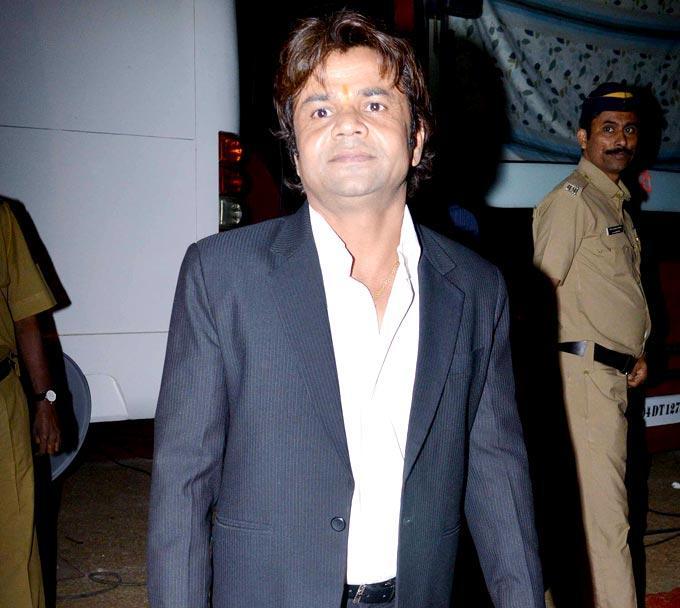 Rajpal Snapped At Umang Police Show 2013 Held In Mumba
