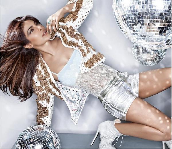 Priyanka Chopra Sexy Look Photo Shoot For Harper's Bazaar India Jan-Feb 2013